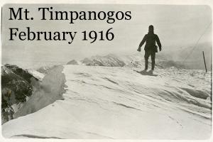 Mt Timpanogos February 1916