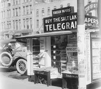 Buy The Salt Lake Telegram cart