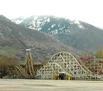 Lagoon Roller Coaster